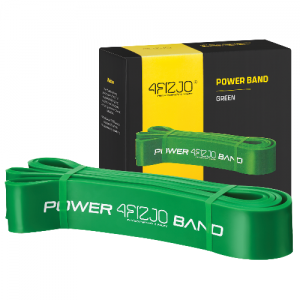 Power band - Green (26-36 kg) - gumy do ćwiczeń, fitness